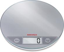 Soehnle Rund Hushållsvåg 5 Kg Silver