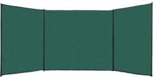 vidaXL Vindskydd HDPE 150x450 cm grön