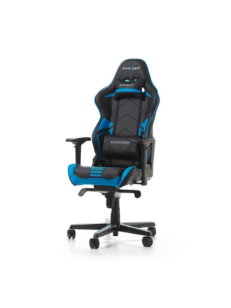 RACING PRO R131-NB Krzes?o gamingowe - Czarno-niebieski - Skóra PU - Do 115 kg