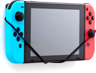 Nintendo Switch Väggfäste (Blå/Röd)