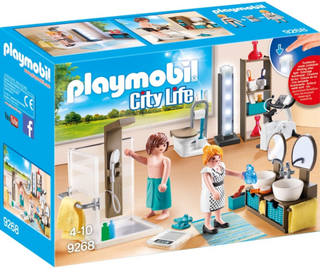 Playmobil9268, Badrum
