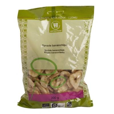 Urtekram Rapea Banaanilastu Luomu 200 g