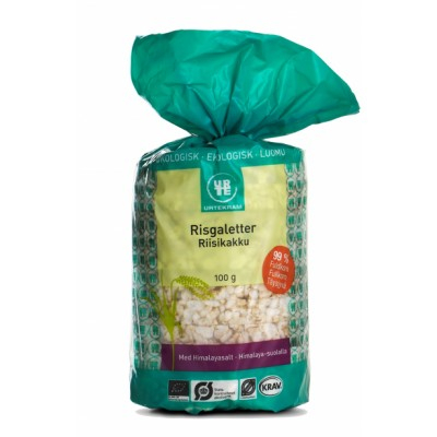 Urtekram Riisikakku Luomu 100 g