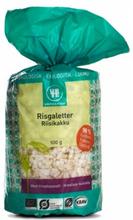 Urtekram Rice Cakes Salt Eco 100 g