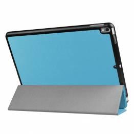 """iPad Pro 10,5"""" cover med bagside og smartcover Lyseblå"""