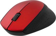 Trådlös optisk mus 1200dpi Rød