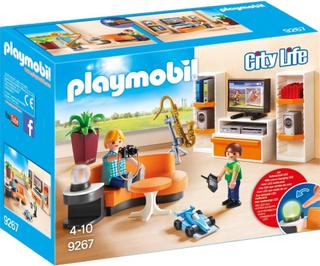 Playmobil9267 Vardagsrum