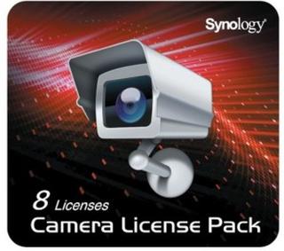 Synology Surveillance Station 8 kameralisenser