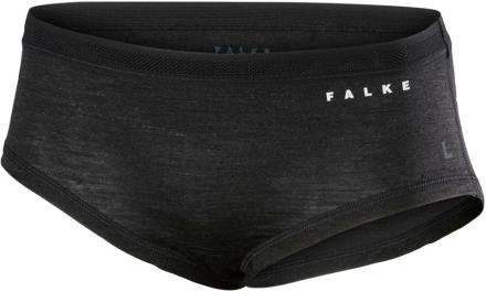 Falke Silk-Wool Naiset alusvaatteet , harmaa/musta XS 2018 Lyhyet alushousut