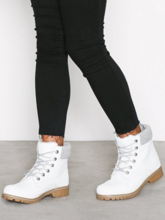 Duffy Warm Boot Hvit