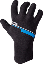 NRS HydroSkin Gloves, gray heather S 2019 Tilbehør til gummibåde