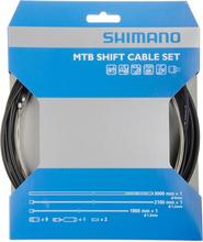 Shimano OT-SP41 Shift Cable Set MTB Stainless Steel black 2020 Växelvajrar & växelvajerskydd