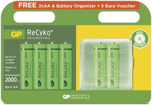 GP BATTERIES GP ReCyko 4+2 st AA Batterier 4891199184246 Replace: N/AGP BATTERIES GP ReCyko 4+2 st AA Batterier