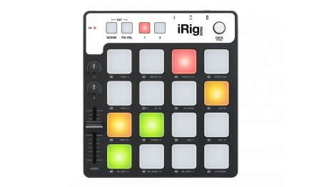 IK Multimedia - iRig Pads - MIDI Groove Controller For iOS Devices & PC/Mac