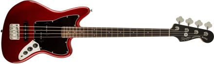 Squier By Fender - Vintage Modified Jaguar Special SS - Electric Bass (Candy Apple Red)