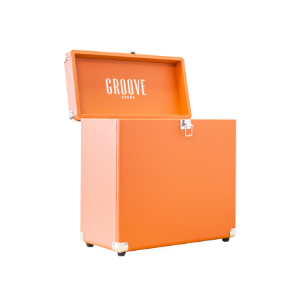Groove Sound Record Case Carrier (Orange)