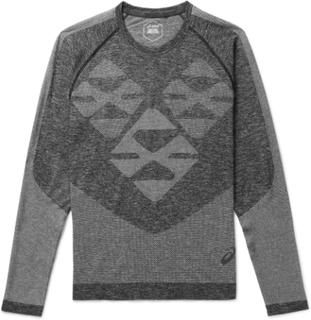 ASICS - + Kiko Kostadinov Mélange Jersey T-shirt - Gray - S,ASICS - + Kiko Kostadinov Mélange Jersey T-shirt - Gray - L,ASICS - + Kiko Kostadinov Mélange Jersey T-shirt - Gray - M,ASICS - + Kiko Kostadinov Mélange Jersey T-shirt - Gray - XL