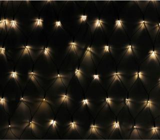 vidaXL Julbelysning LED Ljusnät 3 x 1 m