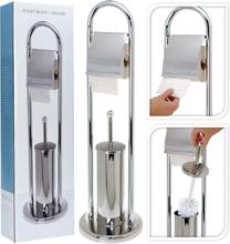 Bathroom Solutions Pappersrullehållare rostfritt stål silver