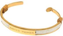 Sister Power Bracelet White Gold, ONE SIZE