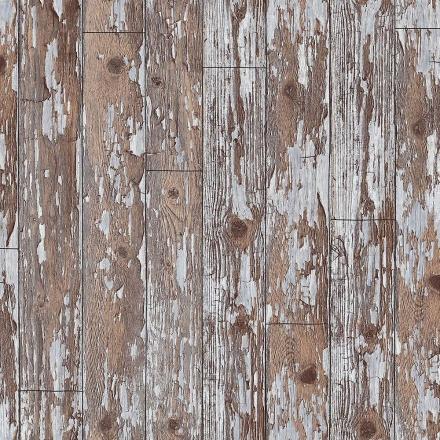 Arthouse gamle forvitret nødlidende rustik hytte træ træ planker tapet