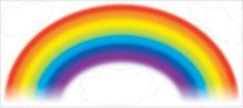 RoomMates Kids Väggdekor Over the Rainbow