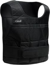 Casall Weight Vest 8kg Unisex träningsredskap Svart OneSize