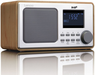 Lenco DAB+ Radio DAR-010 trä