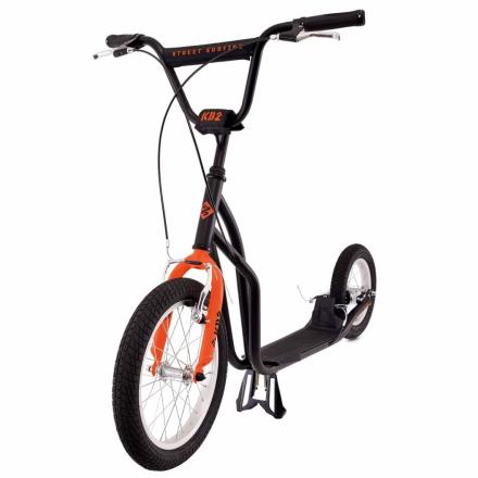 Street Surfing løbehjul K-Bike KB2 sort og orange 12-02-002-1