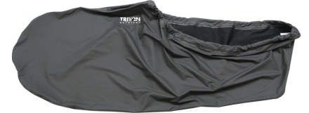 Triton advanced vandtætte sokker Thermal PU sort 2018 Tilbehør til gummibåde