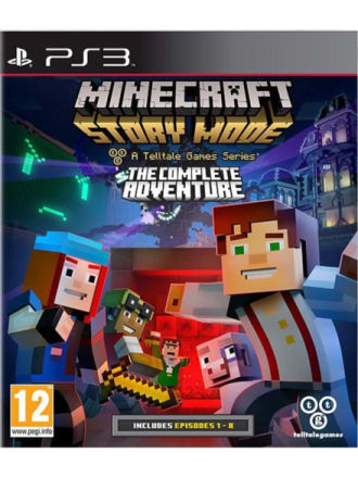 Minecraft: Story Mode: The Complete Adventure - Sony PlayStation 3 - Adventure - Proshop