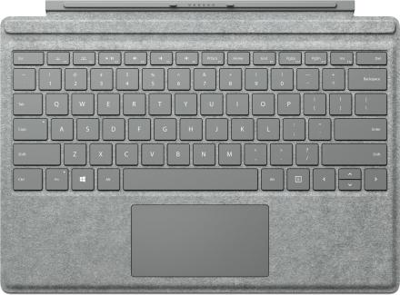 Microsoft Surface Pro 4 Signature Type Cover SC englanti Yhdysvallat/Kanada – Alcantara