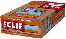 CLIF Bar Energy Bar Box 12 x 68g Crunchy Peanut Butter 2020 Näringstillskott & Paket