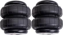 Standard 2500 lb Air Bag single 1/2npt port air spring Bag Double Bellows 2pcs