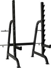 ODIN Squat Rack m. Opbevaring Til Vægtstænger og Vægtskiver