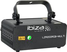 Ibiza LZR 200 RGB Laser