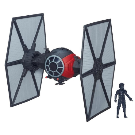 Star Wars First Order Special Forces TIE Fighter inkl. figther Pilot 9,5cm - Only4kids