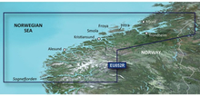 Garmin microSD™/SD™ card: HXEU052R Sognefjorden - Svefjorden