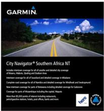 Södra Afrika NT Garmin microSD™/SD™ card: City Navigator®
