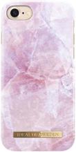 iDeal of Sweden iPhone 7 Marmor skal - Pilion Pink