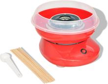 vidaXL candyfloss-maskine 480 W rød