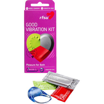 Good Vibration Kit RFSU Kondomit