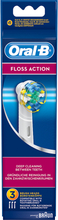 Kjøp FlossAction, 3-Pack Oral-B Tannbørster Fri frakt