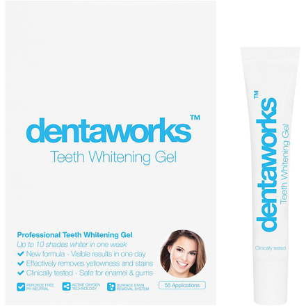 Teeth Whitening Gel, Dentaworks Tannbleking
