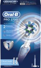 Kjøp Pro 2700 CrossAction, Oral-B Tannbørster Fri frakt