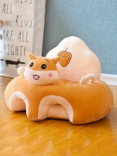 Cartoon Animal Shape Infant Sitting Posture Baby Learning Seat Couch Chair
