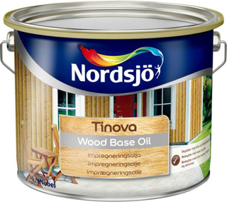 OLJA GRUND TINOVA WOOD BASE OIL NORDSJÖ UT