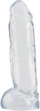 Crystal Clear - Big Dong genomskinlig dildo