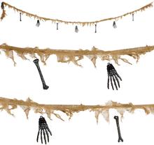 Skelett Girlang