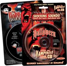 Halloween Skräckljud CD (The Horror Ville Haunt)